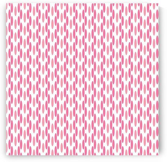 Pink Seamless Pattern Artwork by Rizwana Khan