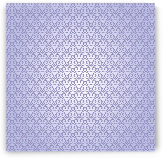 Islamic Purple Pattern  Art by rizu_designs