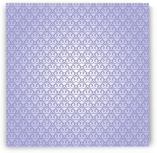 Islamic Purple Pattern  Art by rizu_designs
