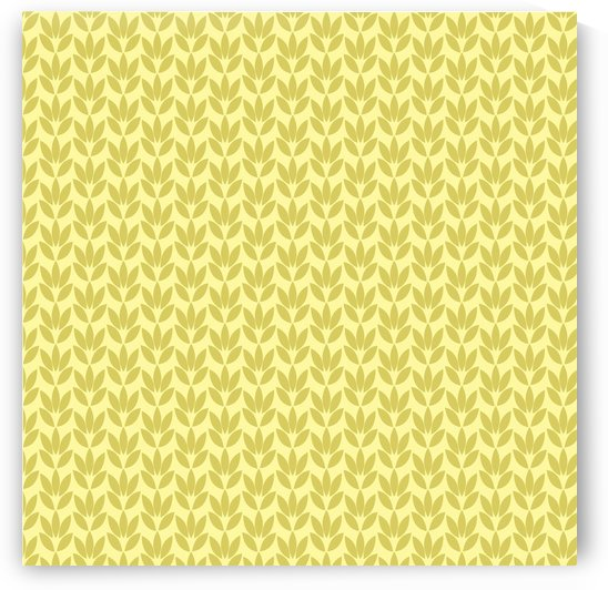 Yellow Color Flower Seamless Pattern Artwork by rizu_designs