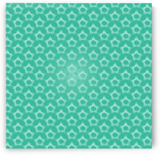 Star snowflake Seamless Pattern Artwork by rizu_designs