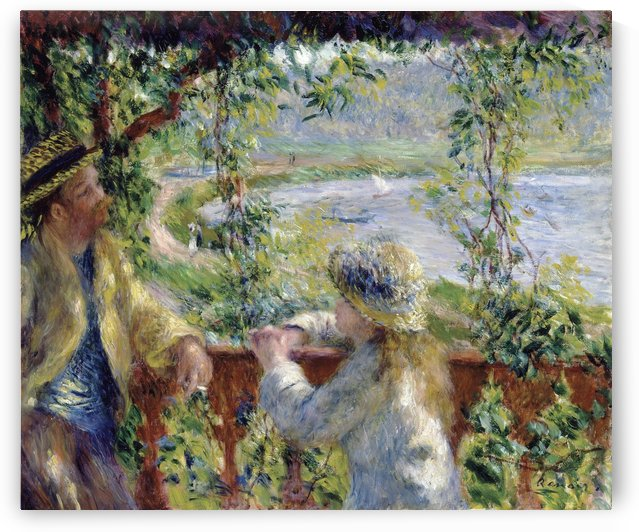 By the Water by Pierre Auguste Renoir