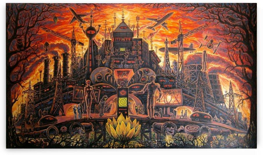 Dark City by MasterOgon