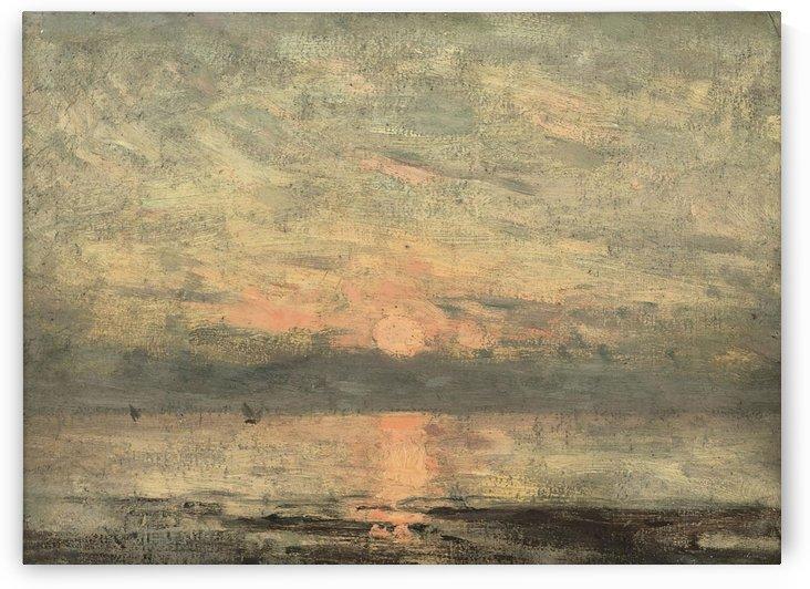 Coucher de soleil by Pierre Auguste Renoir