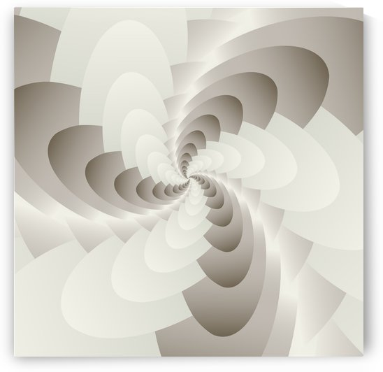 White Spirally Art  by rizu_designs