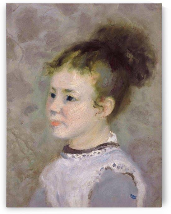 Jeanne Sisley by Pierre Auguste Renoir