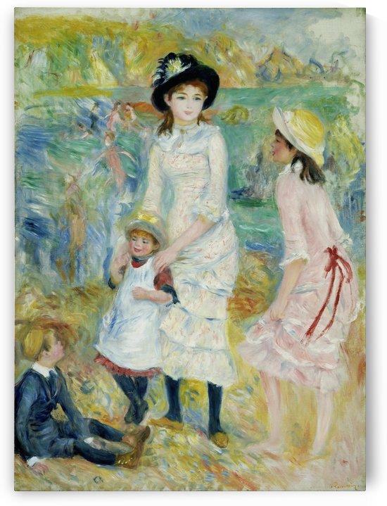 Children on the Seashore by Pierre Auguste Renoir