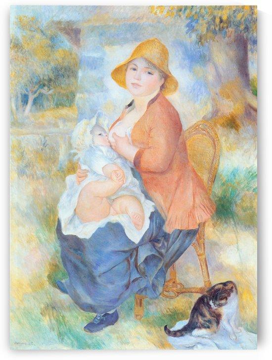 Renoir maternite by Pierre Auguste Renoir