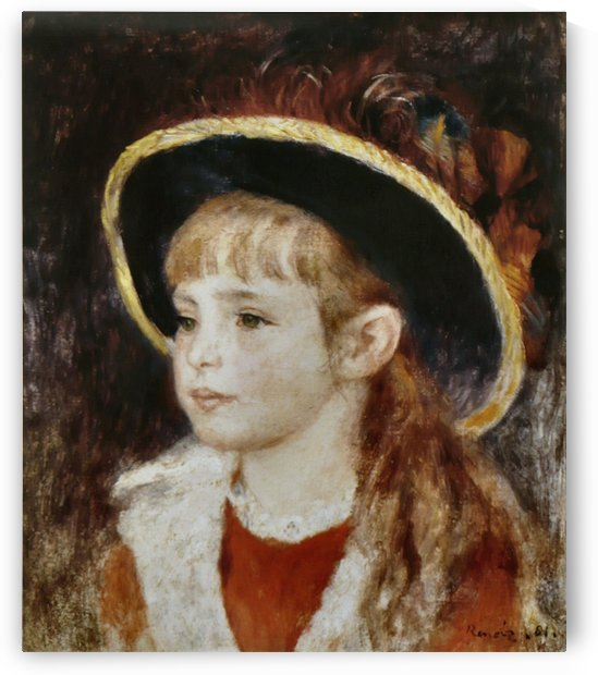 Jeanne Henriot by Pierre Auguste Renoir