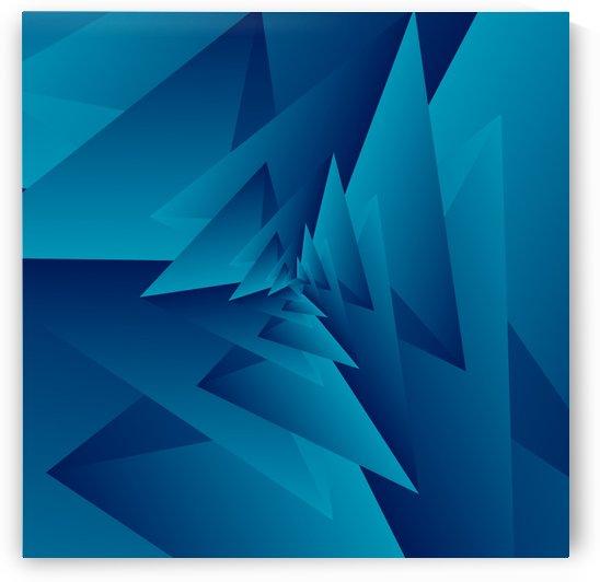 Crazy Triangle Art by rizu_designs