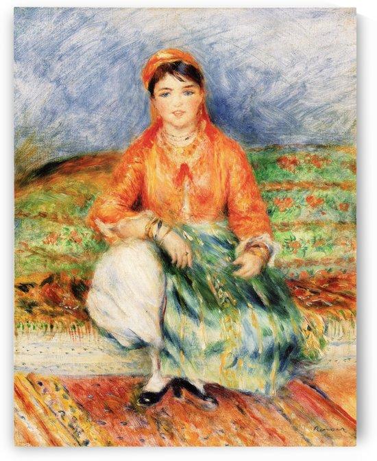 Jeune Fille algerienne by Pierre Auguste Renoir
