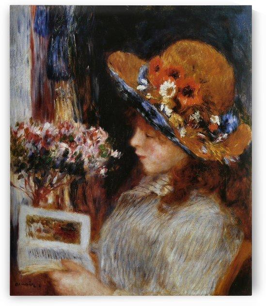 Jeune Fille lisant by Pierre Auguste Renoir
