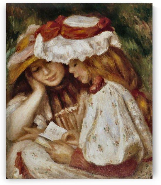 Jeunes Filles lisant by Pierre Auguste Renoir