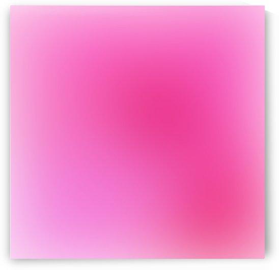 Rose Gradient Background by Rizwana Khan