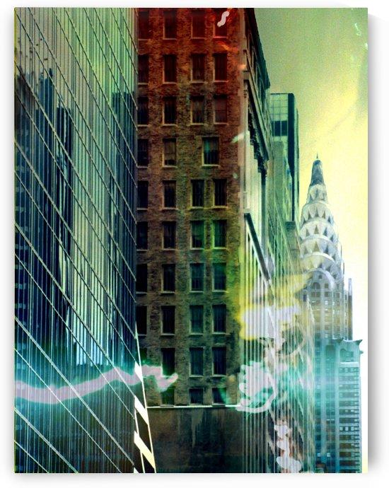 New York Street by Bruce Rolff