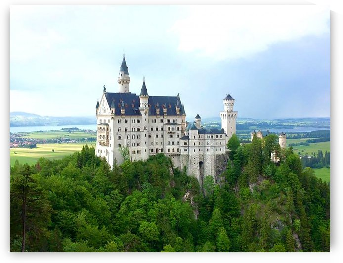 Nueschwanstein Castle by Chanelle Sheets