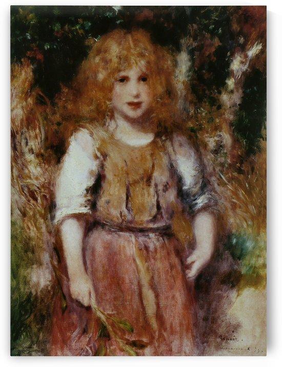 Petite Bohemienne by Pierre Auguste Renoir