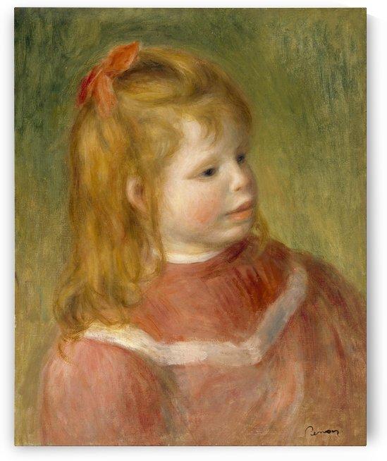 Portrait of Jean by Pierre Auguste Renoir