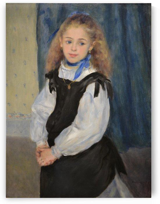 Portrait of Mademoiselle Legrand by Pierre Auguste Renoir