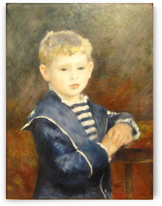 Portrait of Paul Haviland by Pierre Auguste Renoir