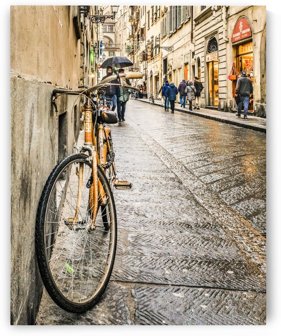 Street of Historic Center of Florence 22 by Daniel Ferreia Leites Ciccarino