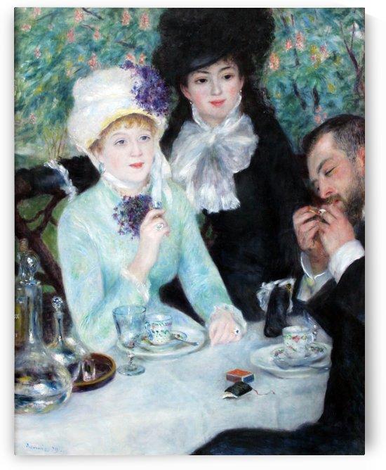 Nach dem Mittagessen anagoria by Pierre Auguste Renoir