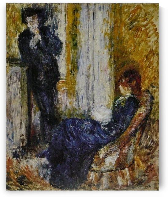 Au coin de cheminee by Pierre Auguste Renoir