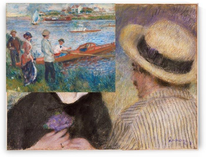 Ruderer von Chatou by Pierre Auguste Renoir