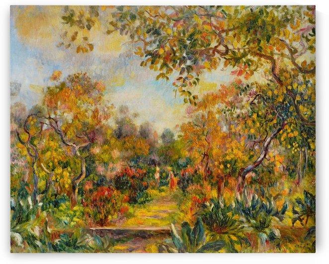 Renoir beaulieu by Pierre Auguste Renoir