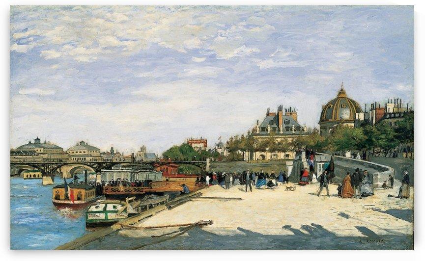 Le Pont des Arts Paris by Pierre Auguste Renoir