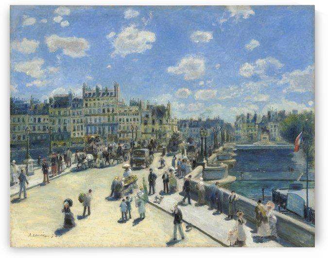 Pont-Neuf by Pierre Auguste Renoir