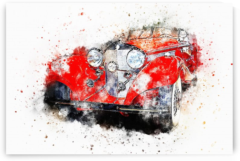 RED CAR_OSG by One Simple Gallery