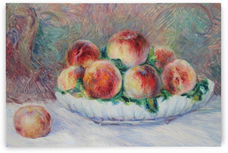 Melocotones by Pierre Auguste Renoir