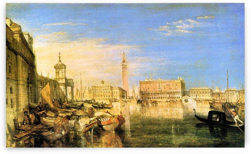 Bridge of Sighs - Venice by Joseph Mallord Turner by Joseph Mallord Turner