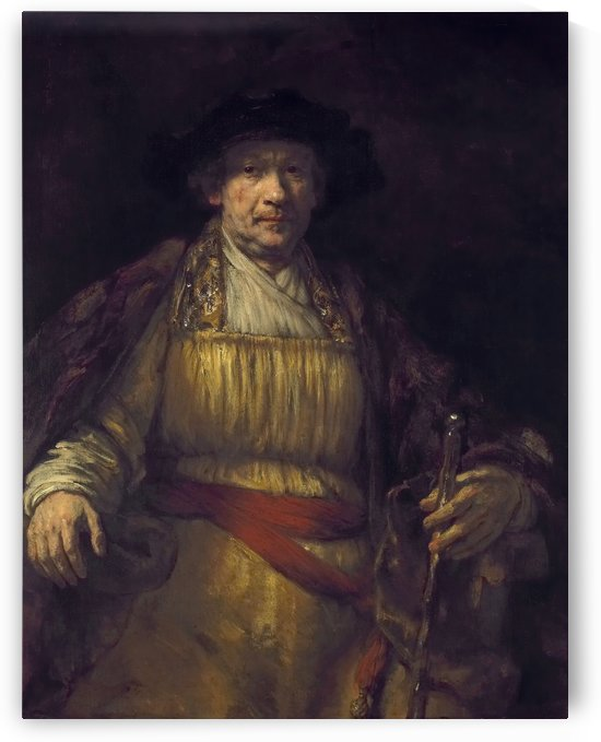 Self-portrait 1658 by Rembrandt