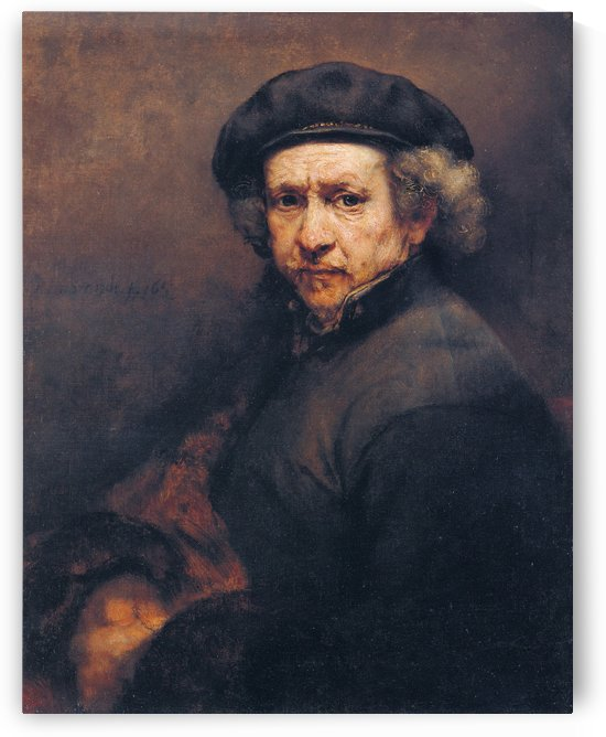 Self-portrait 1659 by Rembrandt