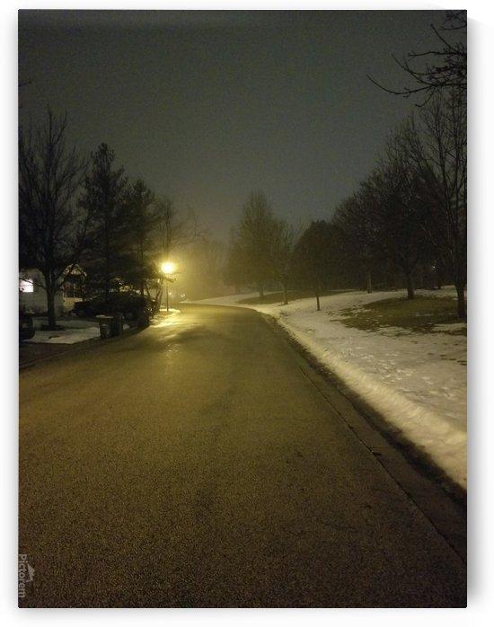 semi foggy street by Wendy A Rohn