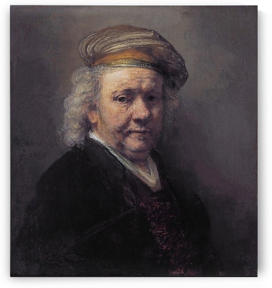 Self-portrait 1669 by Rembrandt