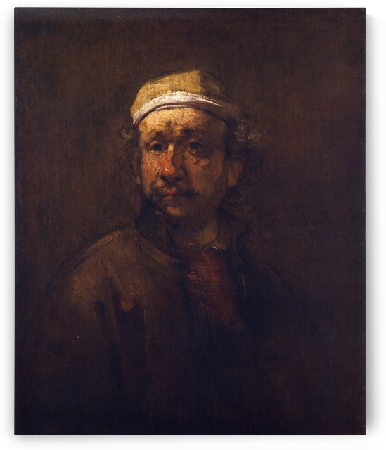 Rembrandt oil by Rembrandt