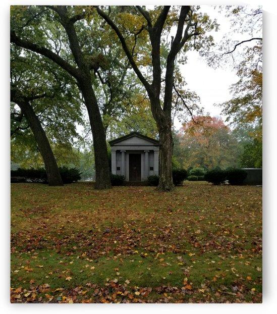 framed mausoleum by Wendy A Rohn