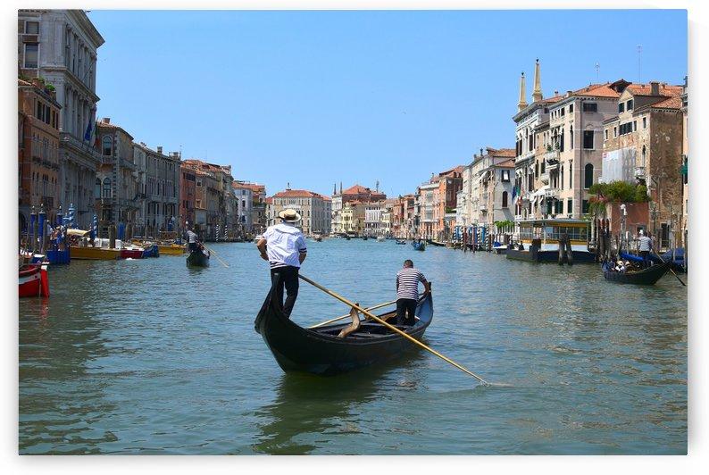 Gondola on the Grand Canal by Koyy