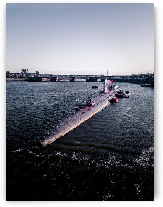 Abandoned Soviet Russian Submarine by Steve Ronin