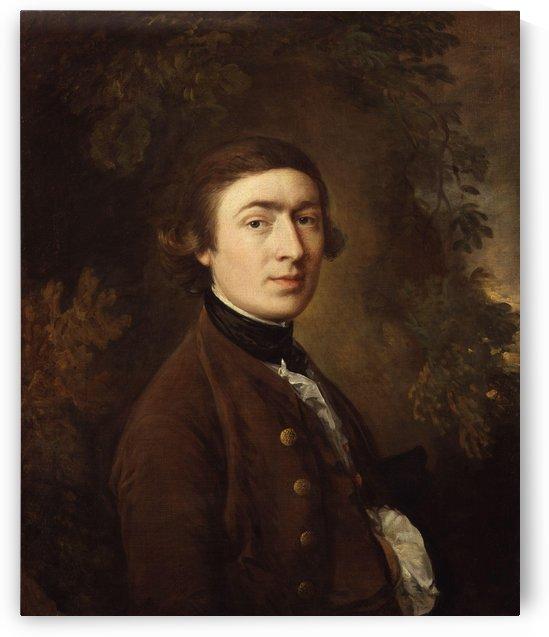 Self-portrait 1758 by Thomas Gainsborough