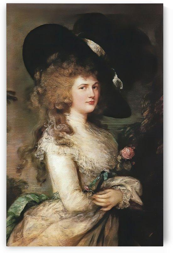 Lady Georgiana Cavendish by Thomas Gainsborough