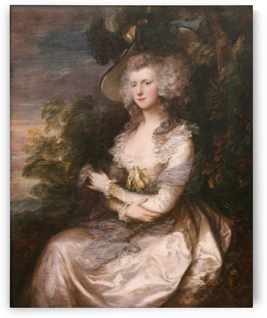 Mrs. Thomas Hibbert by Thomas Gainsborough