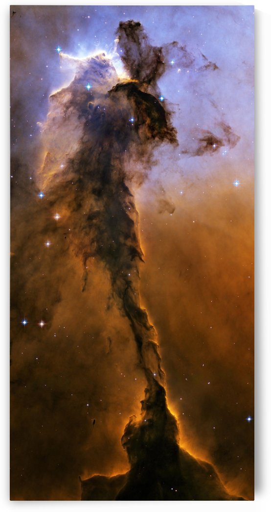 Stellar Spire in the Eagle Nebula. by StocktrekImages