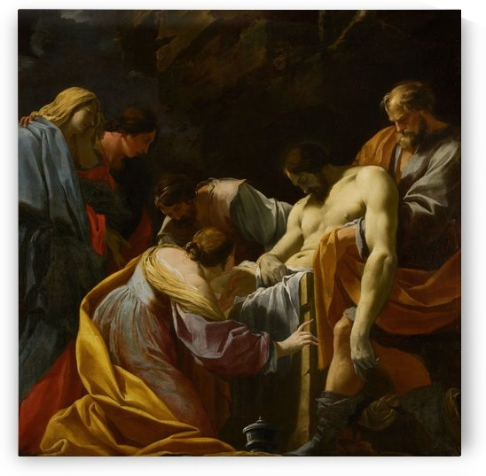 The Entombment by Ugolino di Nerio