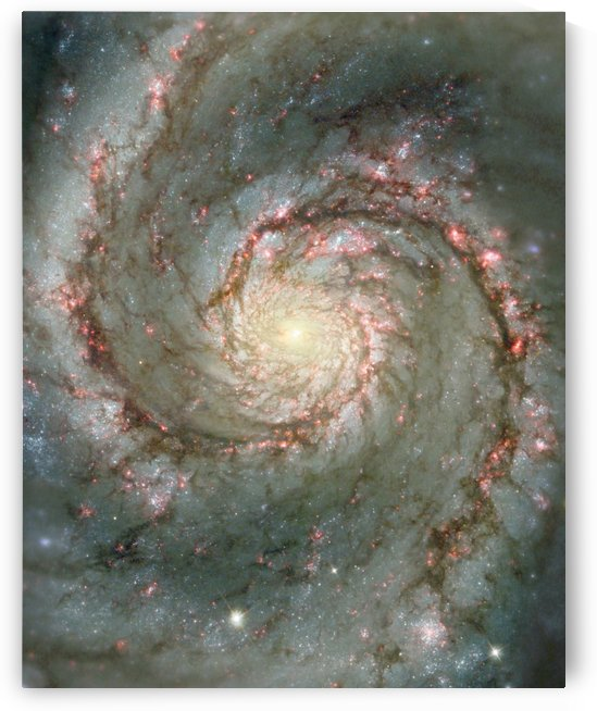 M51 also known as NGC 5194 by StocktrekImages