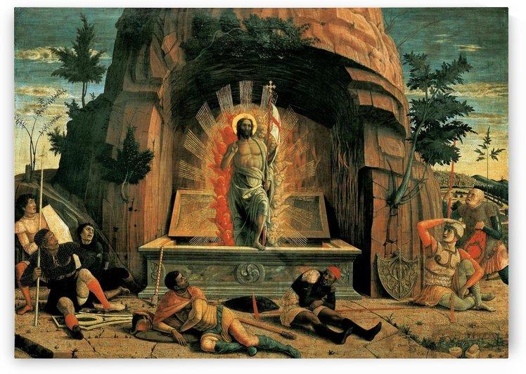 The Resurrection by Ugolino di Nerio