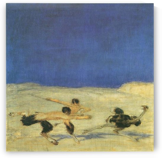 Bunch hunt by Franz von Stuck by Franz von Stuck
